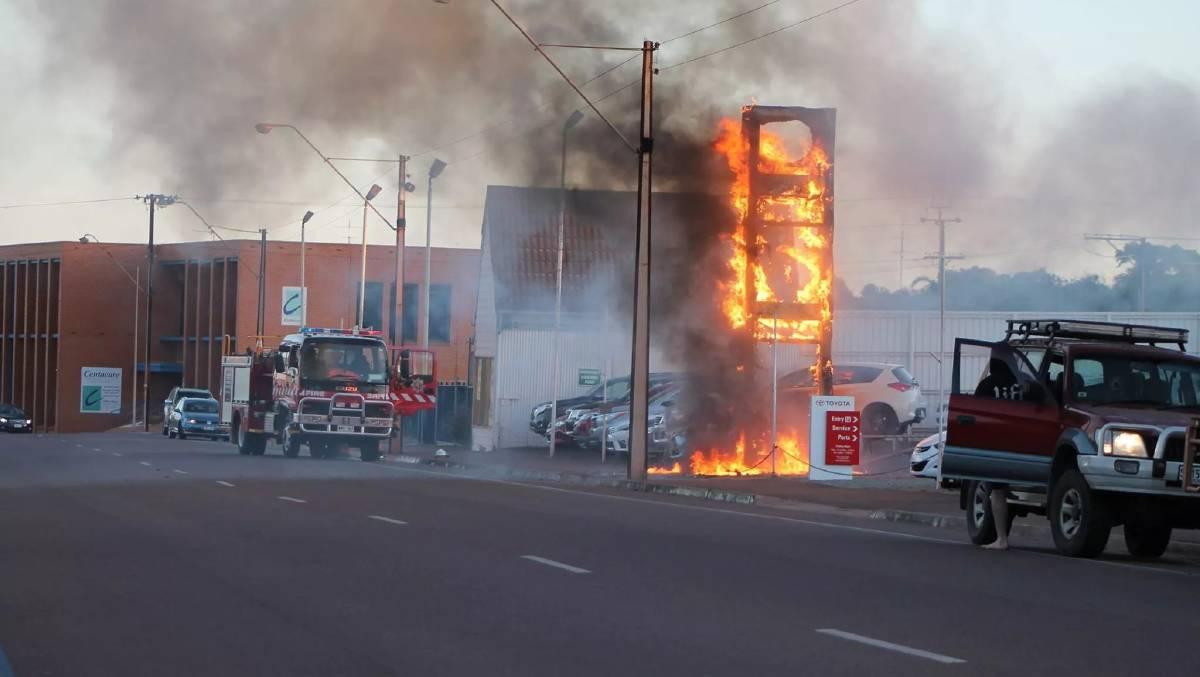 """Fire sale"" at Whyalla car dealership   Bay Post-Moruya ..."